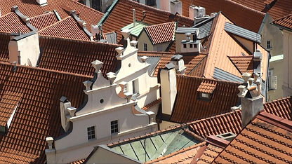 Lesser Town roofs, Prague, Czechia