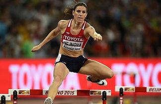 Zuzana Hejnová in winning runon Beijing World Championship