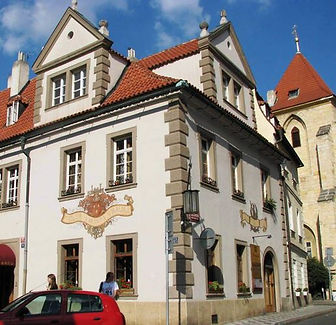 "The house ""At Painters"", Lesser Town, Prague, Czechia"
