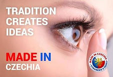 Made in Czechia - contact lenses