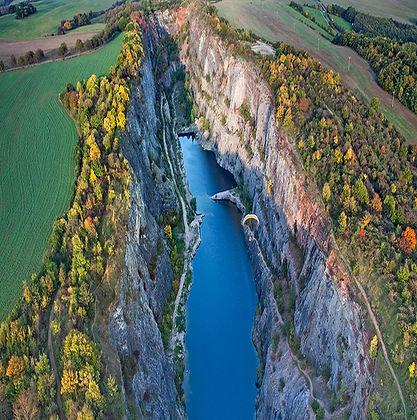 "Bohemian Karst - the quarry ""Amerika"" (Central Bohemia), Czechia"