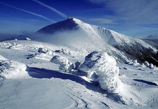 Sněžka mountain (East Bohemia), Czechia