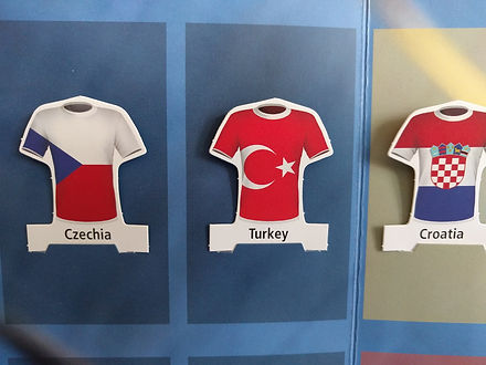 Euro 2016 roster / Czechia, Turkey, Croatia