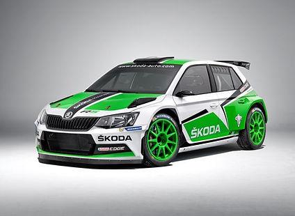 Škoda Fabia R5 Czechia