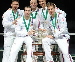 Team Czechia - Davis Cup winner 2013