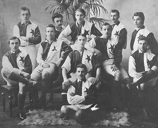 Football club SK Slavia in 1899