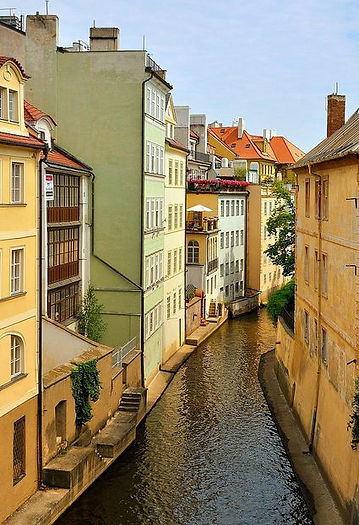 Kampa island, Prague, Czechia