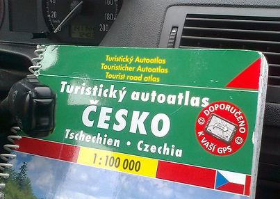 Česko - Tschechien - Czechia / tourist atlas