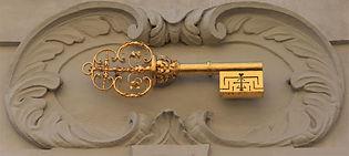 At the key (U klíče), Lesser Town, Prague, Czechia