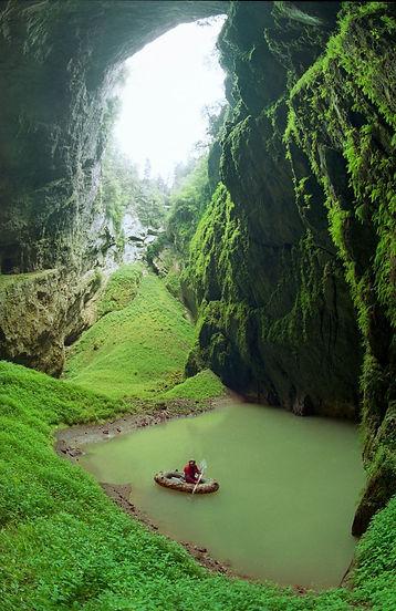 Macocha abyss (South Moravia), Czechia