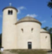 St.George rotunda on the top of Říp hill, Czechia