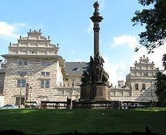 Schwarzenberg (former Lobkowicz) palace at Hradčany, Prague, Czechia