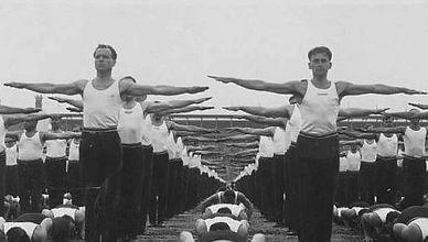 "Sokol organization public exercising, so called ""Slet"""