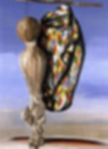 Jindřich Štyrský - Man carried by the wind (art of Czechia)