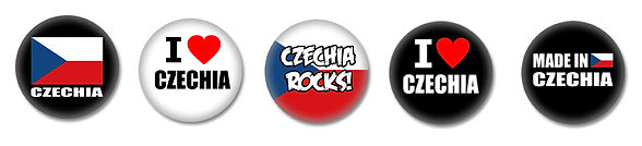 Czechia buttons