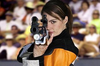 Kateřina Emmons Olympic winner in air rifle