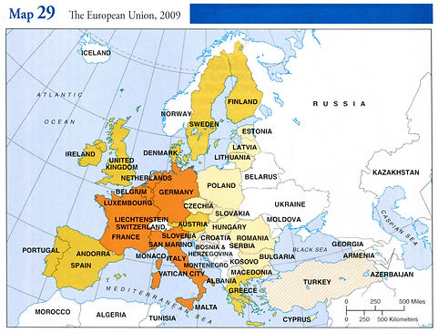 Czechia in EU