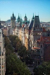 Pařížská Street in the Old Town, Prague, Czechia