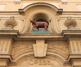 At the red lamb (U červeného beránka), Lesser Town, Prague, Czechia