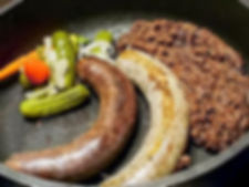 Traditional Czech sausage-meat / Czechia