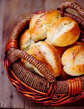 Czech bread with caraway