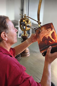 Glass making is an old traditional craft for Czechia