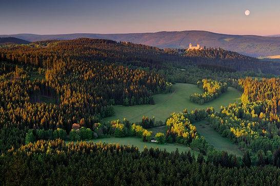 Kašperk in Šumava mountains (South Bohemia), Czechia