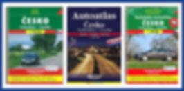 Road atlases Česko - Tschechien - Czechia