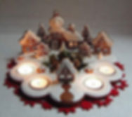 Czech Advent candlestick