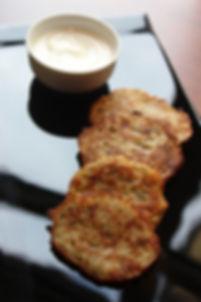 Bramborák - Czech potato pancakes