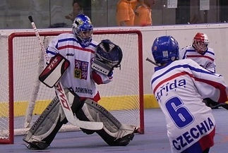 Hockeyball Team Czechia of lower age category of sports