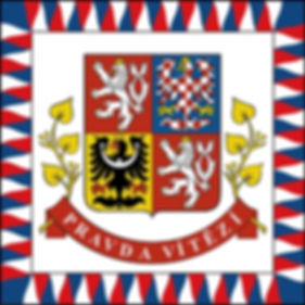 Czechia - president flag