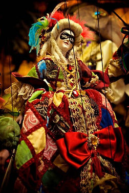 Marionettes shops - Prague is famous for wide variety of handcrafted wooden marionettes - Czechia