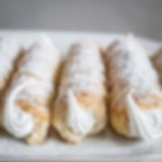 Kremrole - cream horns of Czechia