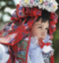 Children folk costume from South Moravia - Czechia