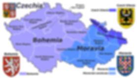 Czechia - Bohemia, Moravia, Silesia