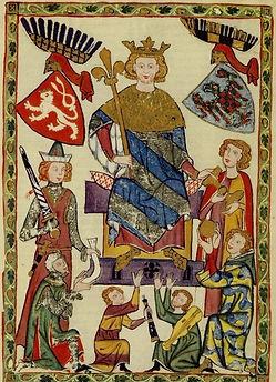 "Ottokar II of Bohemia (Přemysl Otakar II), called ""the Iron and Golden King"", king of Bohemia"