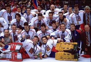 Team Czechia - Olympic Games 1998 (Nagano, Japan 1998) Gold medal winner