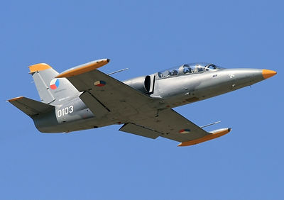 Aero L-39 Albatros is a high-performance jet aircraft developed in Czechia