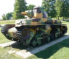 Czech tank from 1935 - Lehký tank vzor 35 (Light Tank Model 35), but was commonly referred to as the LT vz. 35 or LT-35. Czechia
