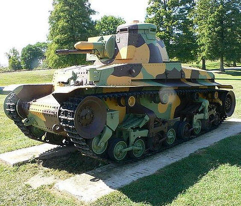Czech tank from 1935 - Lehký tank vzor 35 (Light Tank Model 35), but was commonly referred to as the LT vz. 35 or LT-35. Czechia