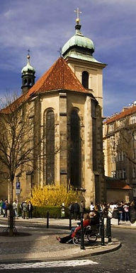 The church of the Holy Spirit, Old Town, Prague, Czechia