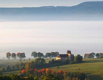 Šonov in Broumov region (East Bohemia), Czechia