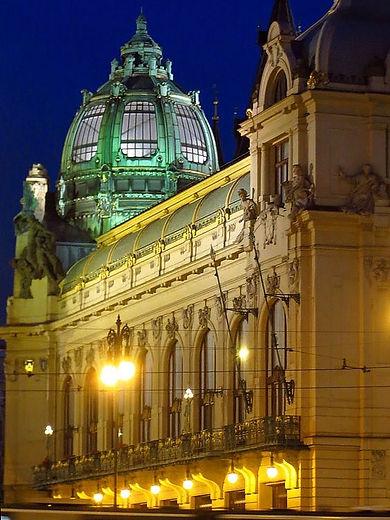 The Municipal House, Prague, Czechia