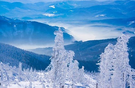 Beskydy mountains (North Moravia / Silesia), Czechia