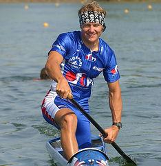 Martin Doktor, sprint canoe champion
