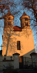 The church of St.Bartholomeus in Kondrac (Central Bohemia), Czechia