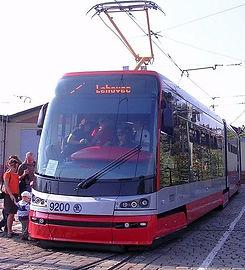 Tram Škoda 15T Czechia