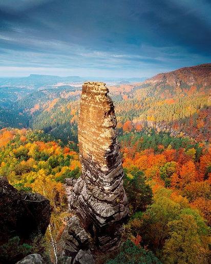 Děčín rocks (North Bohemia), Czechia