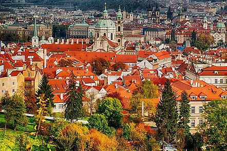 Lesser and Old Town of Prague, Czechia